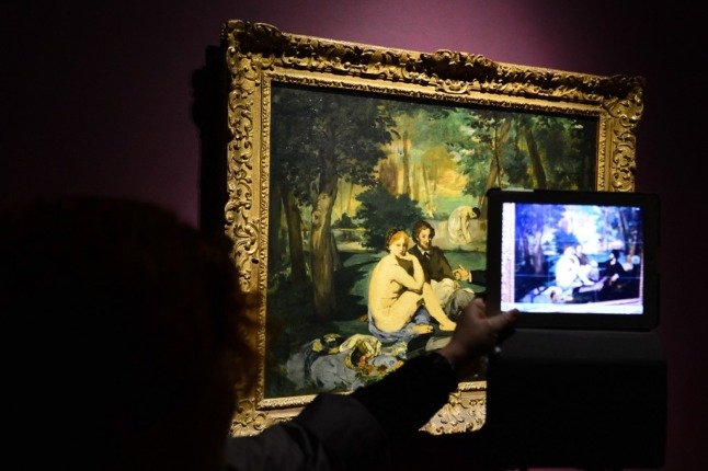 New guide to Paris museums – showing only the nudes