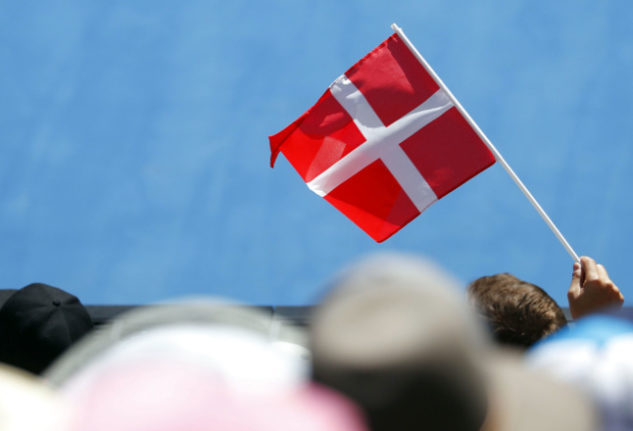Why do Danes love the Danish flag so much?