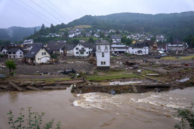 WEATHER: German flood zones at risk of further storms