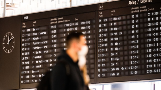 What are the new rules for travel between Germany and the UK?