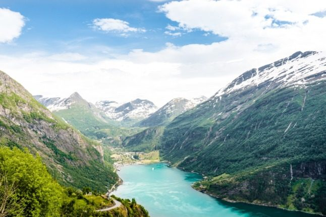 Which parts of the country are Norwegians flocking to on their staycations?