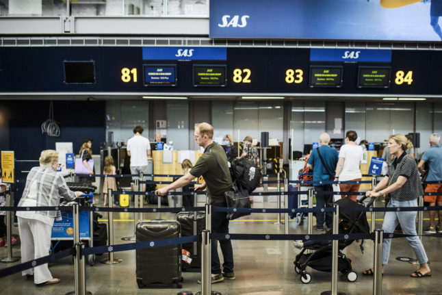 Sweden changes Covid-19 travel advisory for three countries