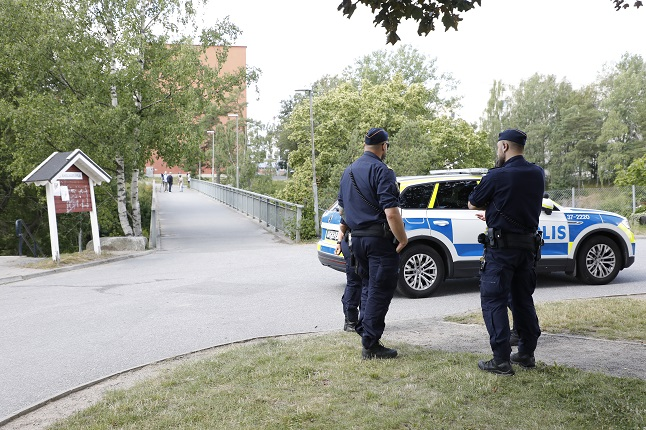 Shooting of two young children puts spotlight on gang crime in Sweden