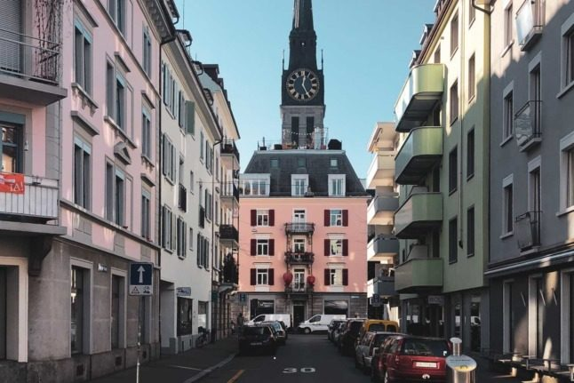Why parking spots in downtown Zurich are disappearing