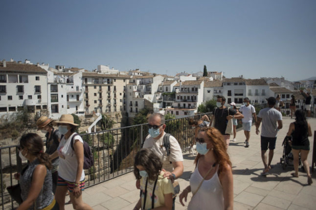 Spain clocks worst first semester tourism figures on record in 2021