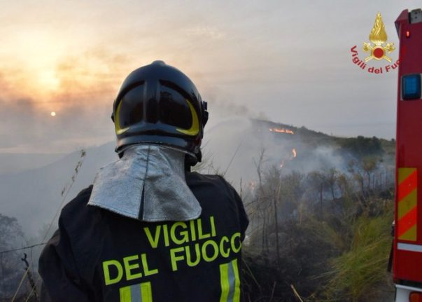 HEATWAVE: Italy issues wildfire warnings as 'hottest week' arrives