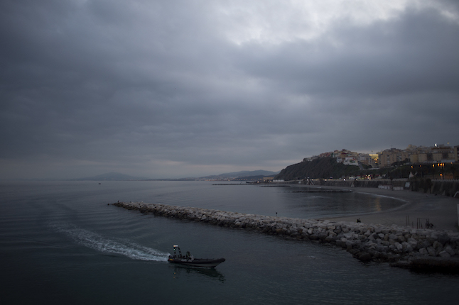 Stand-off takes place between Spanish Civil Guard and British Royal Navy boats near Gibraltar