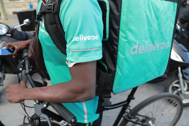 Deliveroo France to face court over 'undeclared labour'
