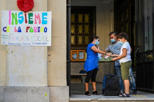 Italy's schools are at risk of new Covid closures, says health expert