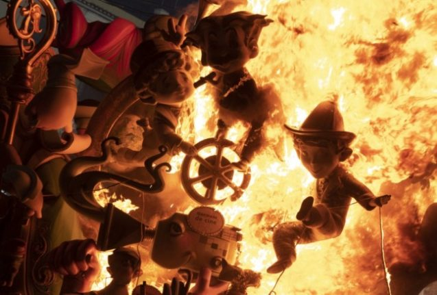 In Pictures: Spain's Fallas festival returns after pandemic pause