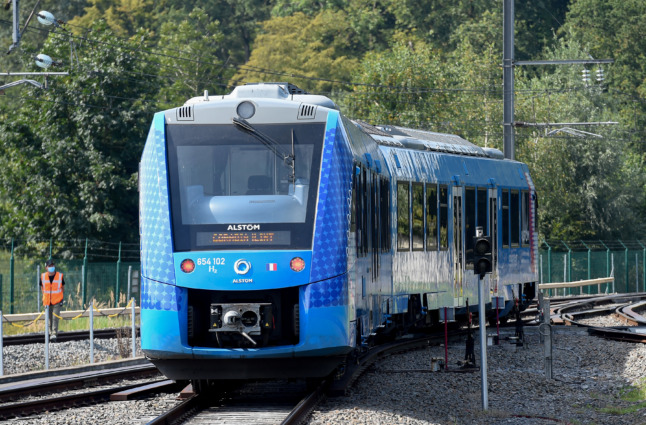 5 things to know about the hydrogen trains coming to France