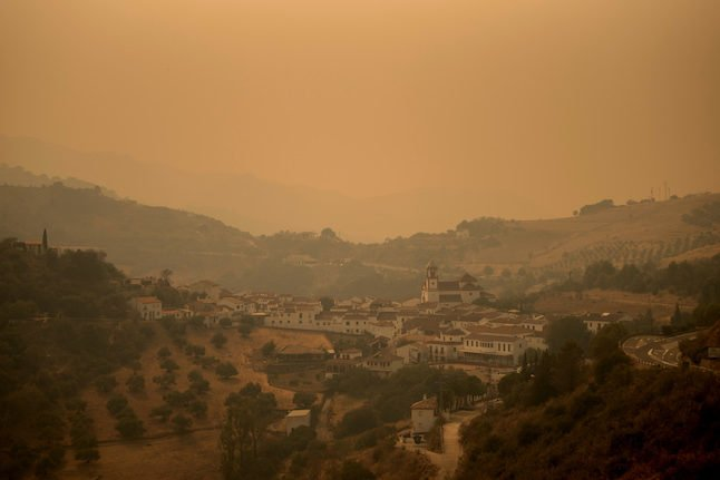 Spain says huge wildfire under control after 7 days