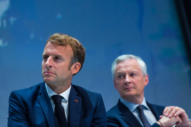 French health passport 'could be lifted in certain areas' says Macron