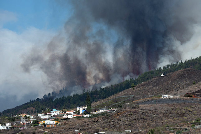 IN PICS: Houses destroyed and villages evacuated after Canary Islands volcanic eruption