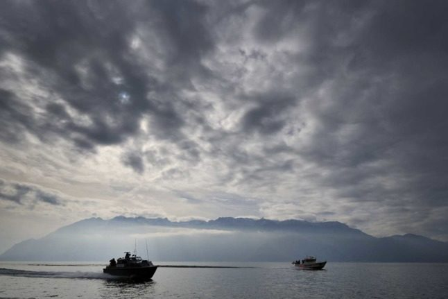 Why the bottom of Switzerland's Lake Geneva is littered with discarded bombs and munitions