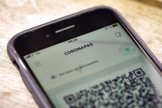 Denmark's Coronapas app 'not showing information' after third vaccine dose