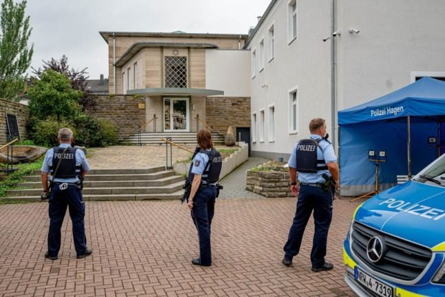 UPDATE: Four held over foiled 'Islamist' attack on German synagogue