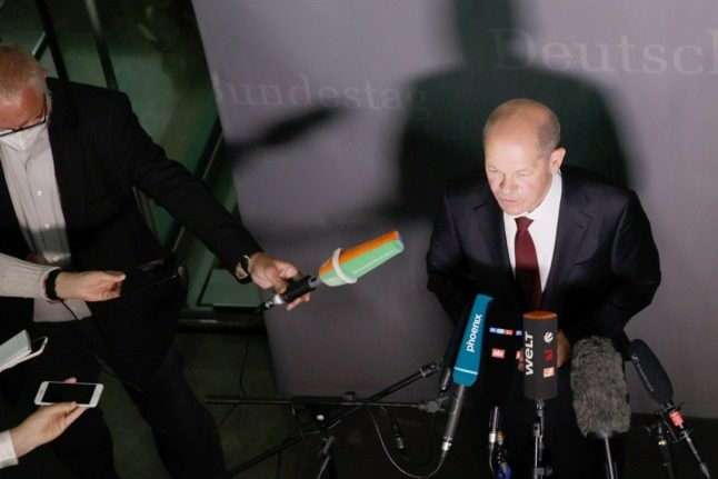 UPDATE: German chancellor candidate Scholz quizzed in fraud probe