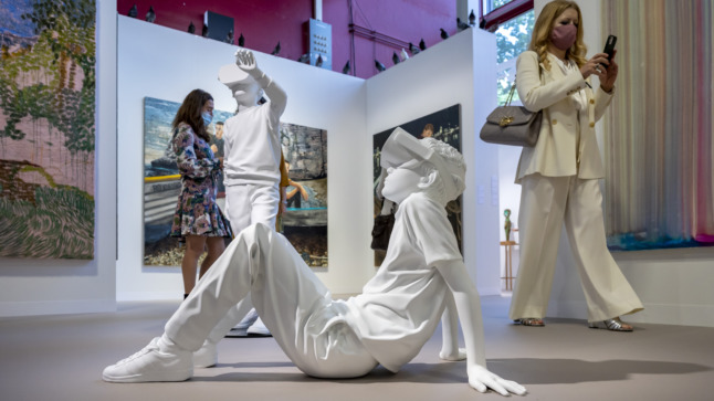 Dystopia, BLM themes emerge at Switzerland's Art Basel fair