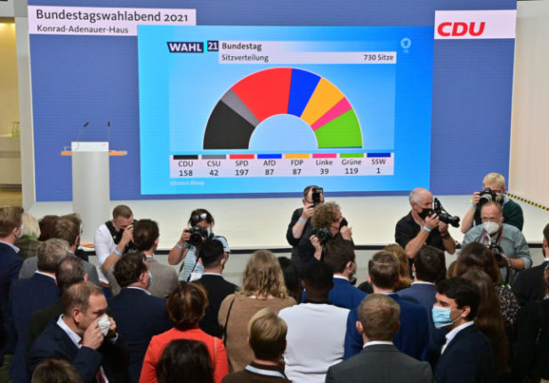 Exit polls show German election still too close to call