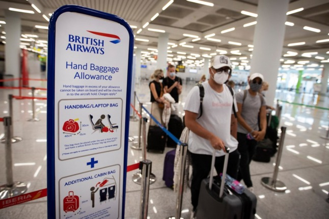 Will rising Covid cases in the UK affect travel restrictions to Spain?