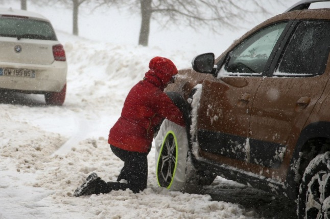 France's new winter tire rules: Drivers won't face fines in first year
