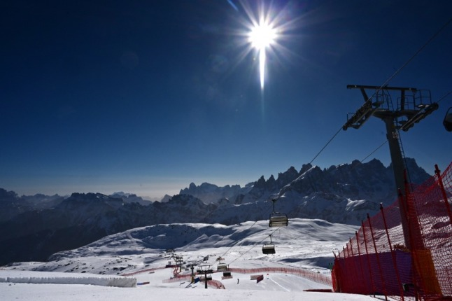 Italy's ski season begins with Covid green pass rules in place
