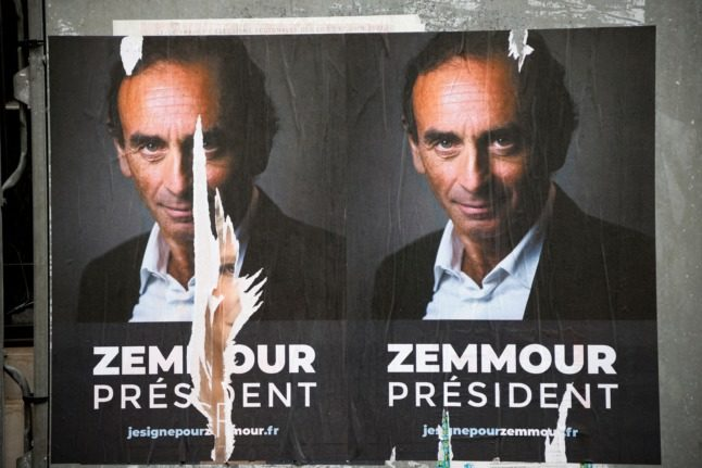 French poll predicts Zemmour-Macron showdown in 2022 presidential election