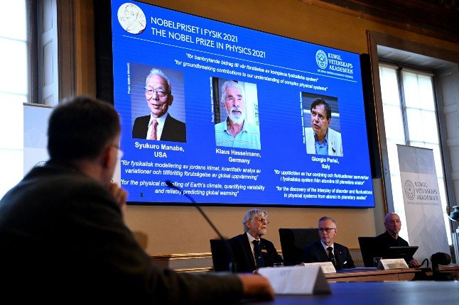 Nobel Physics prize goes to climate experts and disorder theorist