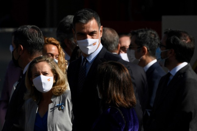 Tensions in Spain's coalition government flare up over labour reform