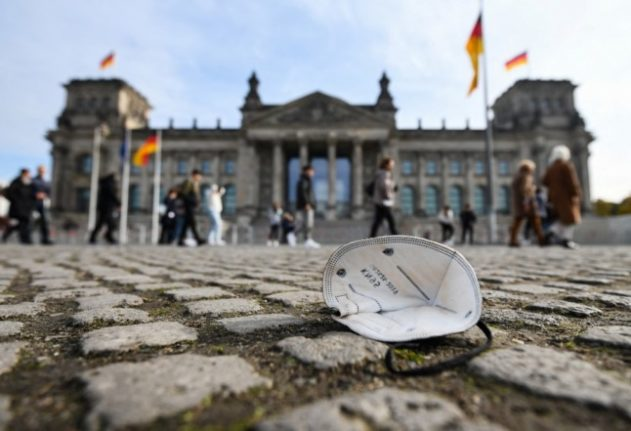 Germany's Covid infections hit highest level since May