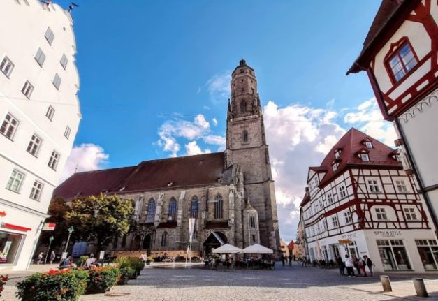 Travel in Germany: The Bavarian town inside a giant crater