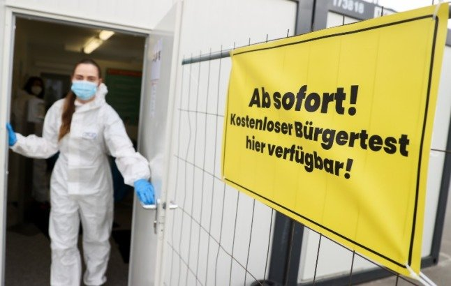 'A fair deal for taxpayer': German health minister defends ending free Covid tests