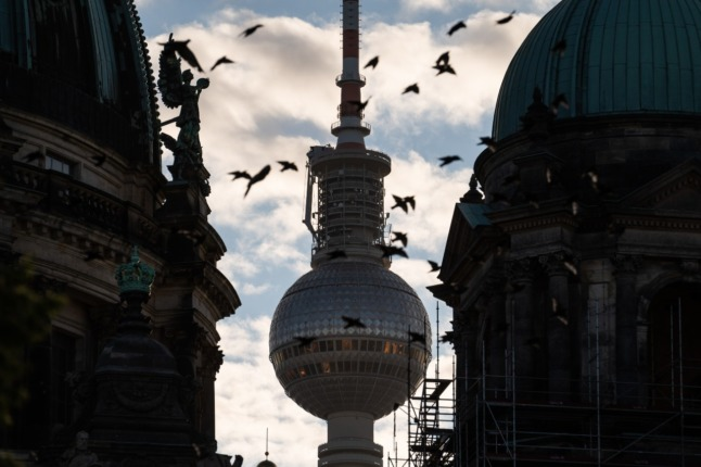 A picture of central Berlin