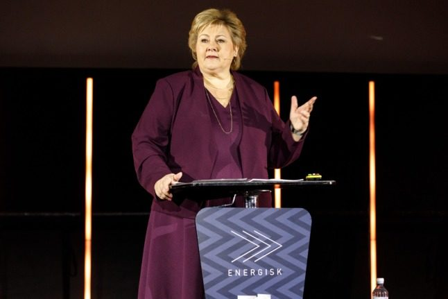 'I am proud': Erna Solberg formally resigns as Norway's PM