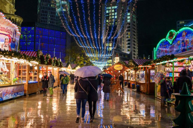 Berlin allows Christmas markets to exclude unvaccinated people
