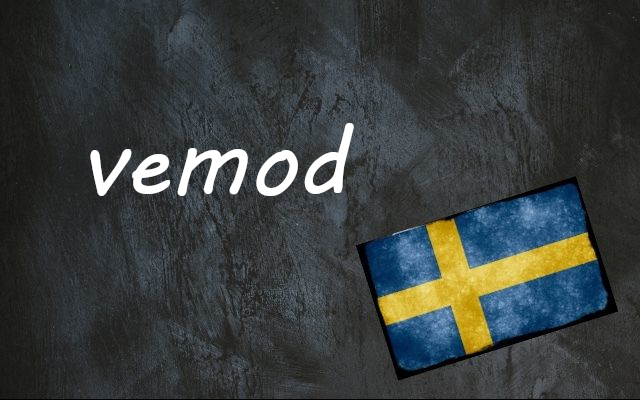 Swedish word of the day: vemod