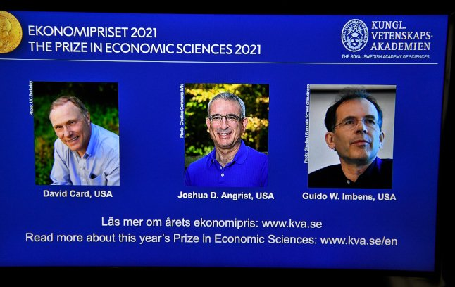Trio share Economics Prize for 'new insights about the labour market'