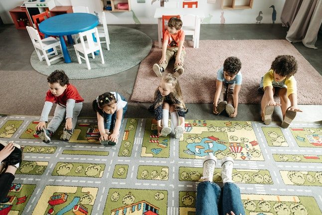 How does childcare work in Austria?