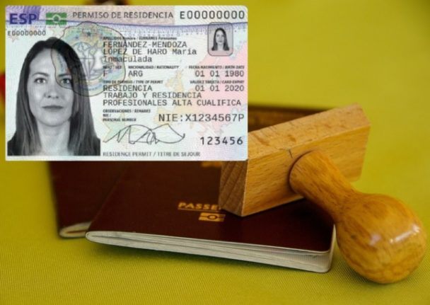 Do I have to get a new Spanish residency card if I renew my passport?